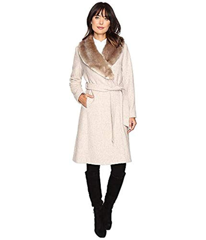 [LAUREN Ralph Lauren(ローレンラルフローレン)] レディースウェア?ジャケット等 Faux Fur Collar Wrap Platinum Heather US 10 (XL) [並行輸入品]