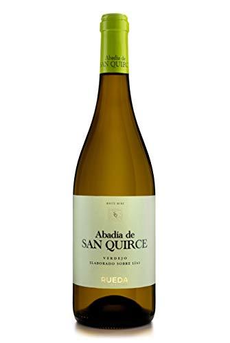 Abadía de San Quirce Vino Blanco Verdejo - 3 botellas x 750 ml - Total: 2250 ml