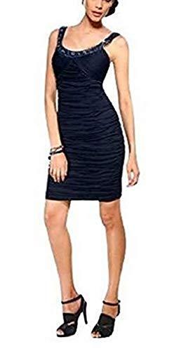 Heine Kleid Abendkleid Farbe Nachtblau Gr. 36