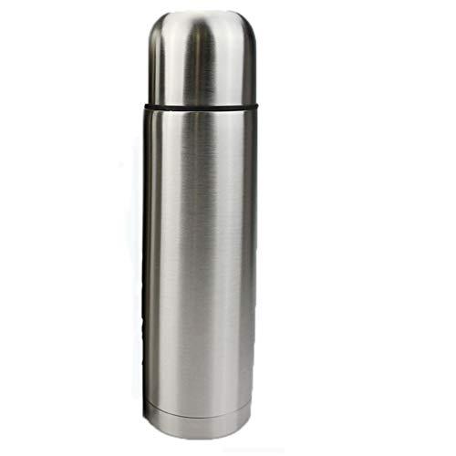 YLCCC Dubbelwandige Vacuum Cup Flask Thermo, Roestvrij Staal Geïsoleerde Waterfles   Fles voor Hete en Koude Dranken Cup Reizen Koffie Mok, Sport Water Fles