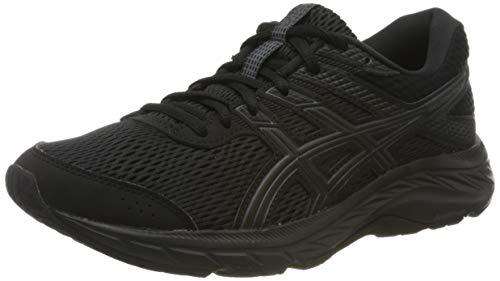 ASICS Women's Gel-Contend 6 Running Shoe, Black, 3 UK