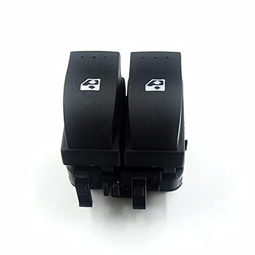 Interruptor de Ventana de Coche para Renault Trafic IIMegane II Opel Vivaro 20022014, Interruptor de botón de Control de Ventana 8200315034