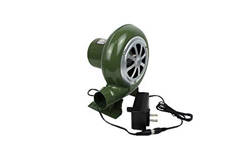 Soplador De Barbacoa Eléctrico De 12 V, Ventilador De Soporte De Combustión...