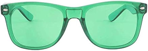 Wonderfulhony Gafas de terapia de color - Chakra Mood Light Therapy Cromoterapia Gafas