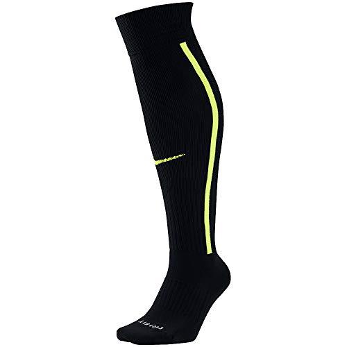 Nike Men`s Team MatchFit Core OTC Soccer Socks (Men's 6-8, Women's 6-10, Black(SX5732-011))