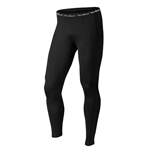 Incrediwear Men's Performance Pants, Black, XL