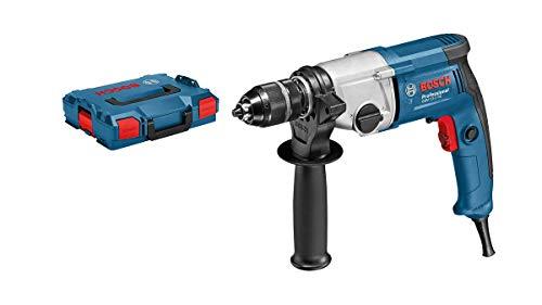 Professional Bosch Taladro GBM 13-2 RE, portabrocas de cierre rápido, 750 W, L-BOXX, 13 mm, 06011B2003