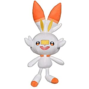 "Pokemon Sword & Shield Official 8"" Plush - Scorbunny - 31nXJCO2 dL - Pokemon Sword & Shield Official 8″ Plush – Scorbunny"