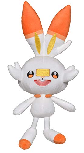 Pokèmon 8 Pulgadas Felpa – SCORBUNNY, Color. (Wicked Cool