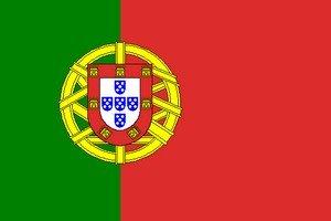 Grand drapeau du portugal, 150 x 250 cm
