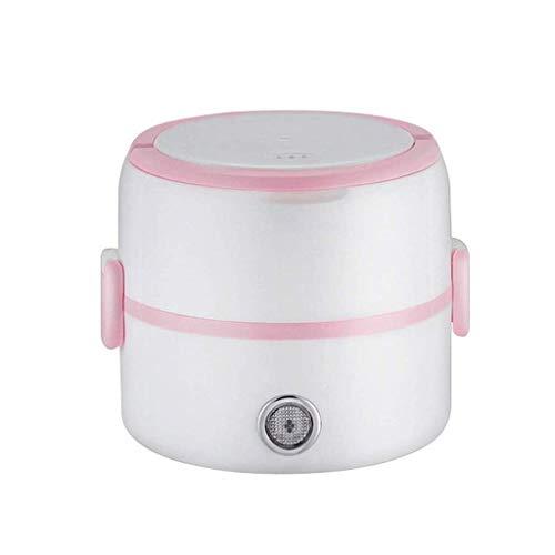 2 Niveau électrique Déjeuner Chauffage Box, Cuisinière électrique Express Hot Pot avec contrôle de la température (Couleur: un style) (Couleur: Style de deux) lalay (Color : Style Two)
