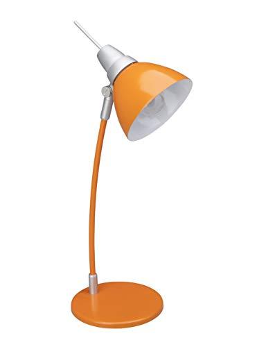 Brilliant AG 92604/07 Lampe de Bureau Métal/Plastique 40 W E14 Orange