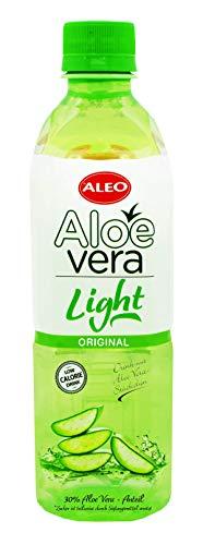 ALEO Aloe Vera Getränk LIGHT (12Fl. je 0,5L) inkl.Pfand