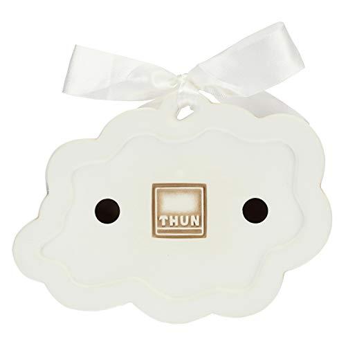 THUN ® - Formella Piccola Sagomata Pioggia di Colori con Rondini in Volo