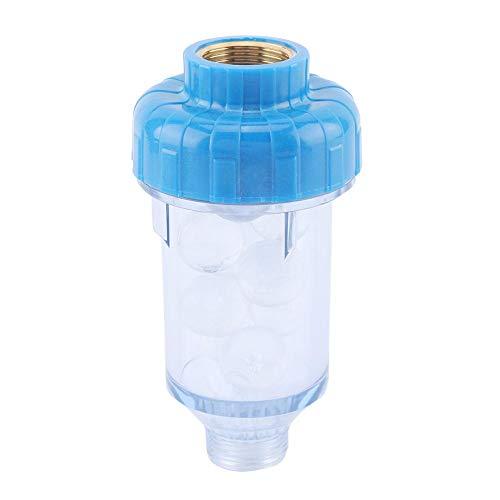 ViaGasaFamido Filtro Backwash Purificatore d'Acqua Fosfato di silicio Rubinetteria di Cristallo Accessori Lavatrice Filtro Frontale in Rame Detergente Solare per rubinetti