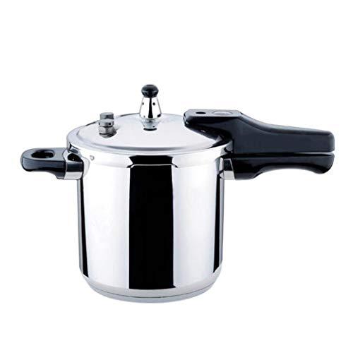 LJXWH 304 Edelstahl Pressure Cooker, 10L große Kapazitäts Slow Cooker Suppentopf, Wohn Double Bottom Gasherd Cooker Druck Hebt Multifunktionales Pressure Cooker