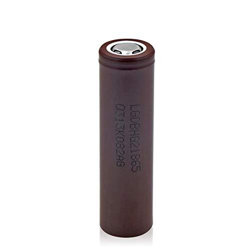 MeGgyc 3.7V 3000mAh 18650 20A Batería de Iones de Litio Recargable para Linterna LED Micrófono antorcha Flattop