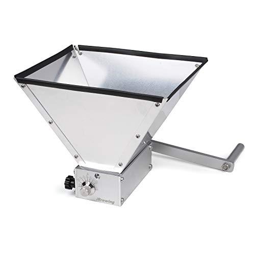 iBrewing Premium - Kit per frantoio a 2 rulli in acciaio INOX