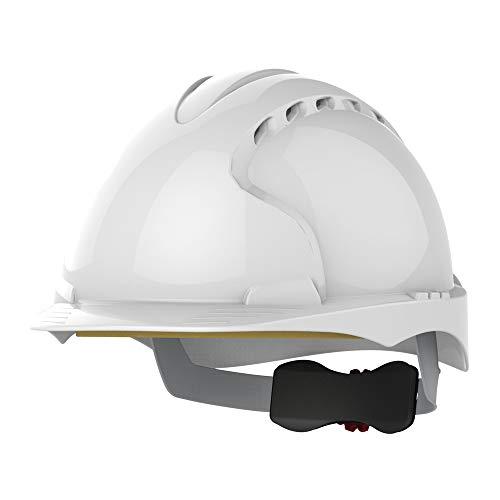 JSP ajf170–000–100EVO3revolución rueda trinquete casco, con ventilación, color blanco