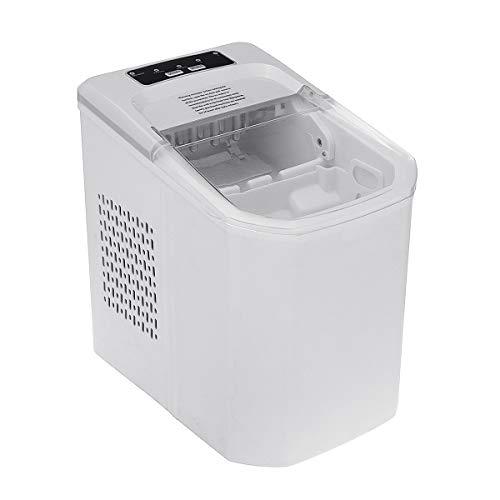 Mini hielo casero fabricante 15KG hielo que hace la máquina 1.2L tanque pantalla LED Bullet forma 9 cubos de hielo