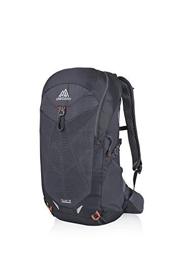 Gregory Herren Miwok Backpack Rucksack, Schwarz (Flame Black), 32 L