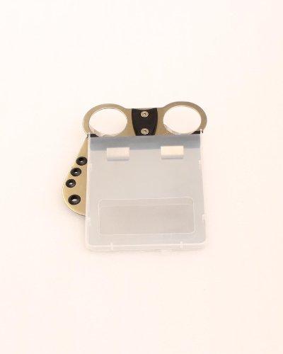 Scorekartenhalter, Einbau auf Trolleyrahmen mit Durchmesser 2,8-3,0 cm