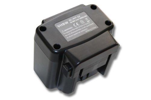 vhbw NiMH batería 3000mAh (24V) para Herramienta eléctrica Powertools Tools como Hitachi EB 2420