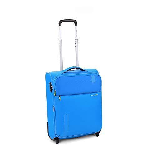 RONCATO Speed Trolley cabina morbido espandibile 2 ruote tsa Blu elettrico