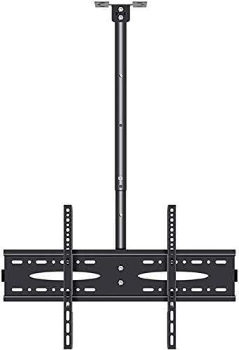 Soporte de TV mejorado Soporte de TV de techo giratorio Se inclina Soporte de TV de rotación de extensión para la mayoría de televisores de pantalla plana LCD LED de 40-70 pulgadas, Max 600x400mm Up t