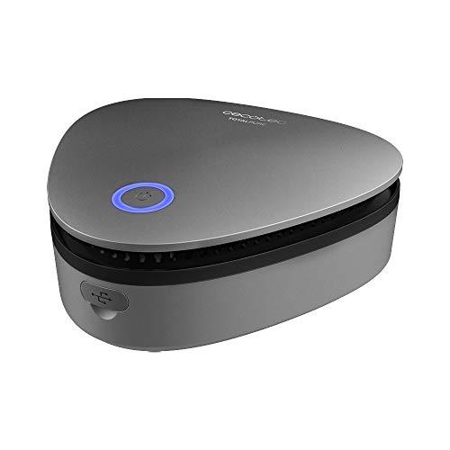 Cecotec Generador de Ozono Portátil TotalPure 1000 Ozone. Expulsa 20 mg/hora, Potencia 3W, Temporizador con 2 Modos, Luz LED, Carga mediante USB, Batería 1800 mAh