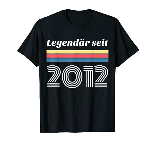 9º cumpleaños regalo legendario 2012 9 años niño niña Camiseta