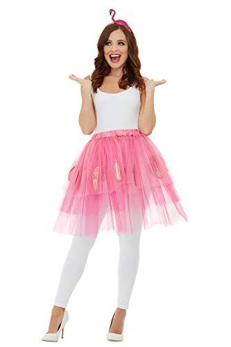 Smiffys 47782 Ensemble flamant rose pour femme Taille unique