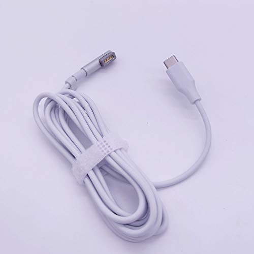 PD USB C Charge Cable for Magsafe 1 L Shape 45w 60w Compatible with MacBook Air Pro 15 inch 17 inch Before Year 2012 Working As 45W or 60W Charger