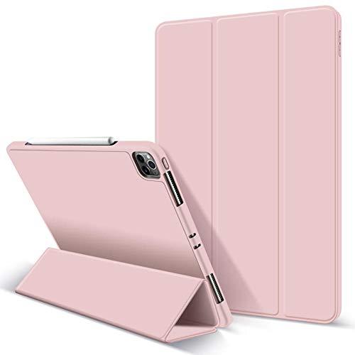 Geschikt voor ipad pro11 beschermhoes geschikt voor 2020 Apple Tablet PC beschermhoes drievoudig slaap-Baby powder_ipad pro 2020 11 inch