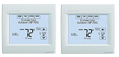 Honeywell TH8321WF1001 Wifi Vision Pro 8000 con etapas de hasta 3 calor/2 frío (paquete de 2)