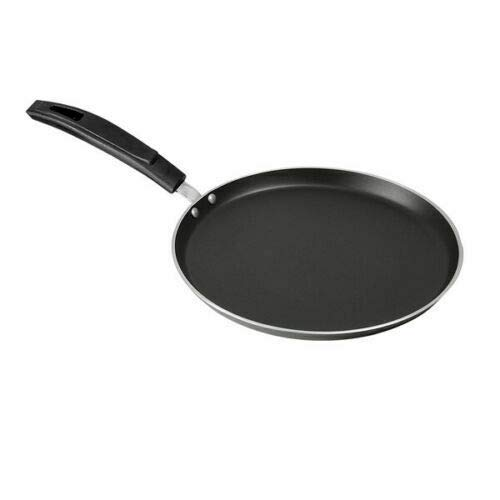 Professional Crepe and Pancake Omelet Pizza Pan 32cm Multi Layered Non Stick Coating with Forged Aluminium Professional Grade Pans 32cm