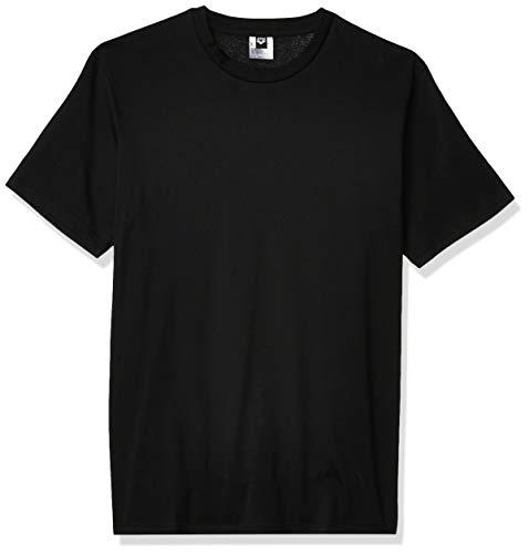 Arena Men's Standard Event Tee Short Sleeve T-Shirt, Black No Logo, XXS