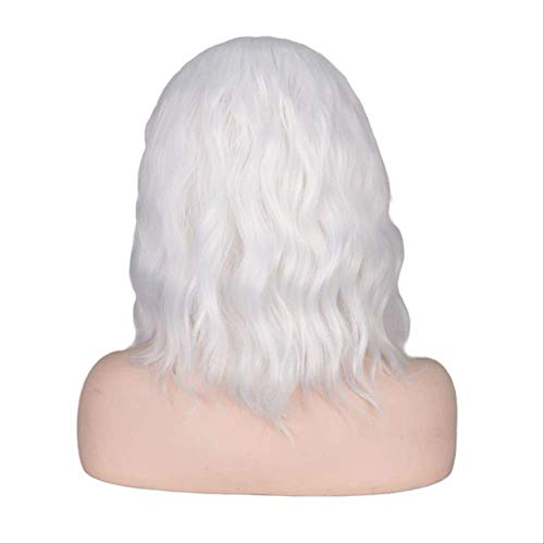 Mhsm Peluca Wigs Cortos Rizados Para Mujeres Negras Negro Natrual Resistente Al...