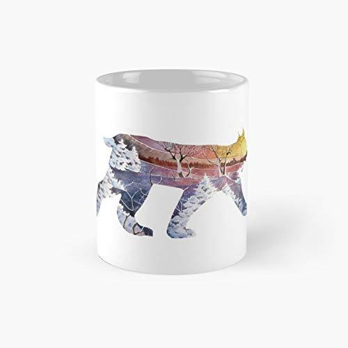 Taza clásica Lynx | El mejor regalo divertidas tazas de café de 11 oz