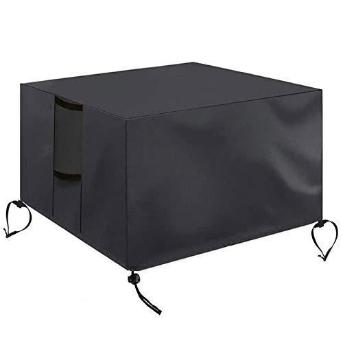 XXYANZI Funda Sofa Exterior Impermeable 200x160x70cm, Rectangular Cubierta de Exterior Impermeable Anti-UV Protección para Muebles terraza y Jardin Exterior - Negro
