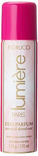Desodorante Aerosol Lumière 110 G/ 170 Ml, Fiorucci