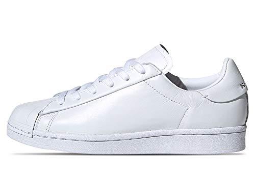 Adidas Originals Superstar Pure Lite - Zapatillas deportivas para mujer, color blanco, blanco y blanco, talla 37 EU 42 2/3