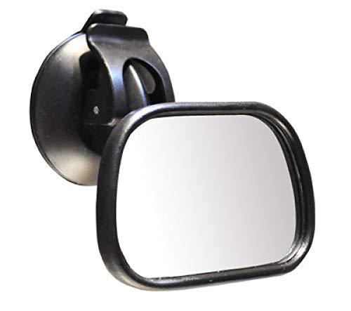 ZXY Asiento de Seguridad para niños Monitoreo Espejo de observación Amplio ángulo de visión Ventosa Ajustable de 360 Grados Espejo Universal