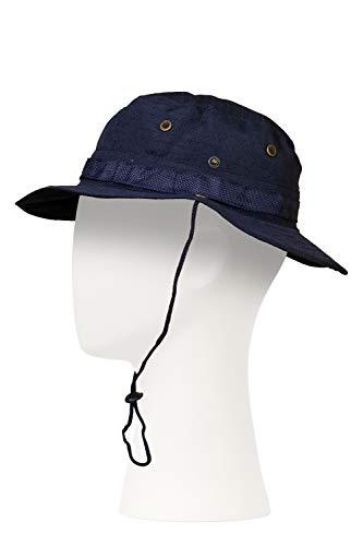 Tekma Navy Blue Boonie Hat, Size 7-3/8