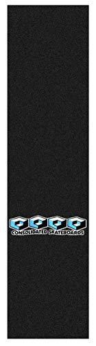 Consolidated Skateboard Griptape 4-Cube Logo Einzellage schwarz (Black) 9