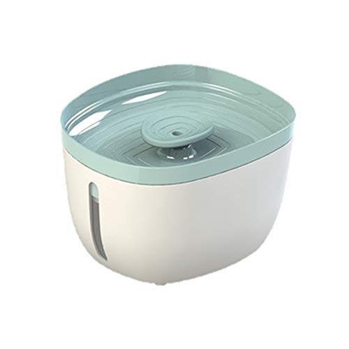 Dispensador de mascotas Dispositivo fuente de agua de agua de la máquina de inteligencia llevó las luces del agua Dispensador de agua Fuente de agua del gato del perro casero Dispensador de agua súper