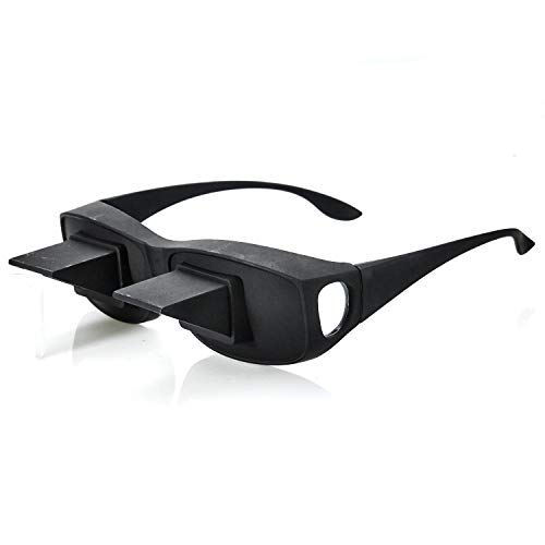 Fernseh Lese Winkelbrille 90 Grad Blick Prismabrille Fernsehbrille Umlenkende TV Bett Prisma Brille Lesebrille Zum Lesen Im Liegen