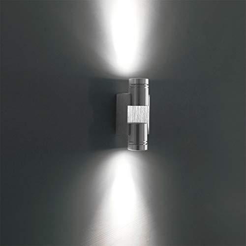 LED wandlamp binnen 2 W aluminium wandlamp ronde vorm voor trap slaapkamer keuken woonkamer badkamer eetkamer wandlampen moderne LED