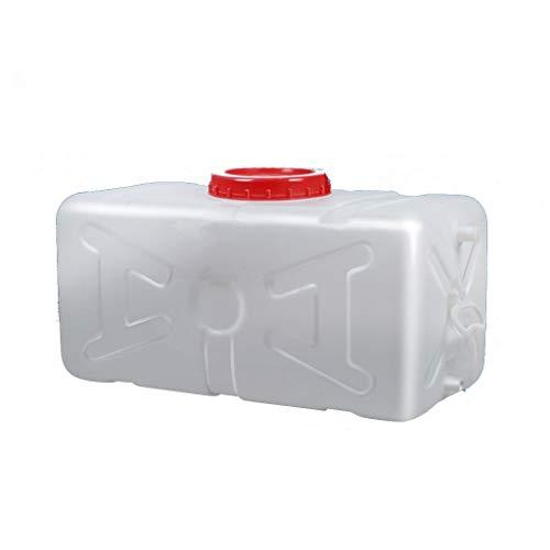 Contenedor de Agua Tanque De Agua De Plástico De Grado 48L Depósito De Agua Con Grifo Contenedor De Agua Portátil Tanque De Almacenamiento Agua, Seguro, No Tóxico Y De Gran Capacidad Envase Agua Que A