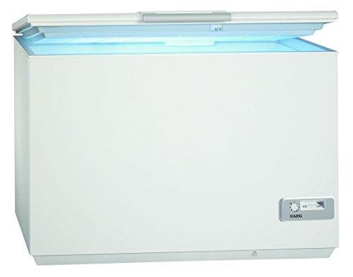 AEG ARCTIS A92300HLW0 Gefriertruhe/A+++ / 87,60 cm Höhe / 122 kWh/Jahr / 223 L Gefrierteil/Innenbeleuchtung/LowFrost-Technik/weiß